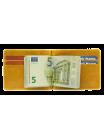 Зажим для денег Apache ОК-А табачно-желтый
