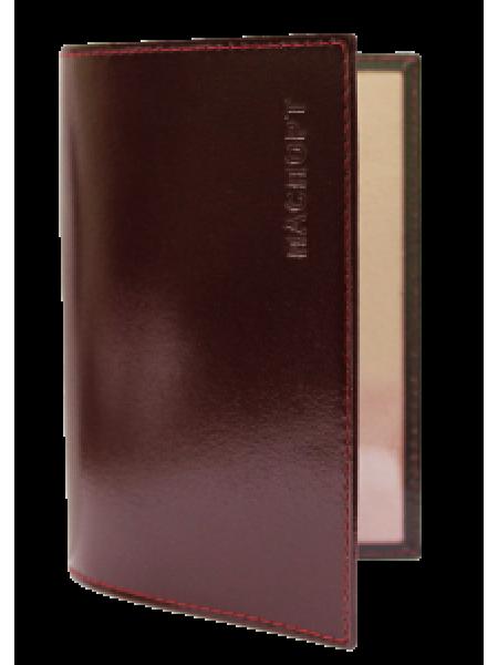 Облож для паспорта СТ-ПО-1 Г бургундия Старк