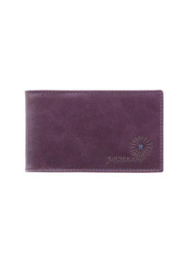Визитница кредитница друид С-ВМ фиолетовый Флауэрс