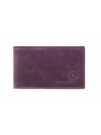 Визитница для карт друид С-ВМ фиолетовый Флауэрс