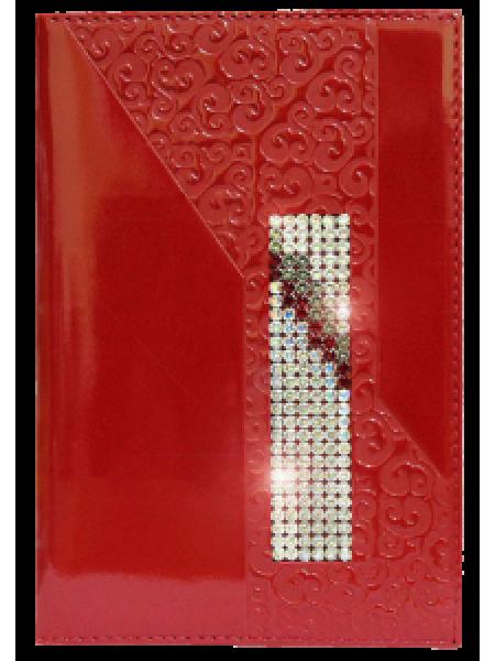 Обложка для паспорта ОП-16 escala red Kniksen