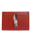 Обложка для паспорта ОП-16 red mesh Kniksen