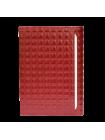 Изысканный бумажник водителя  БС-12 red ice с кристалами SWAROVSKI Kniksen