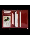 Дамский бумажник водителя БС-12 красного цвета Kniksen