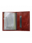 Бумажник водителя БС-9 коралл красный Kniksen